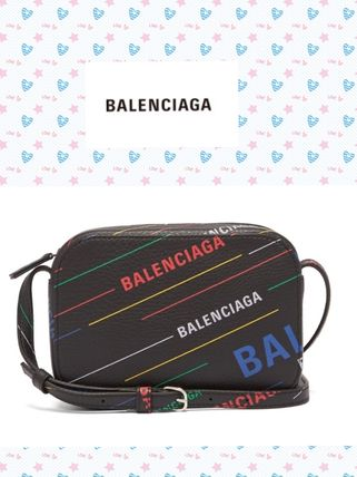 BALENCIAGA(^O^)Everyday XS leather cross-body bag
