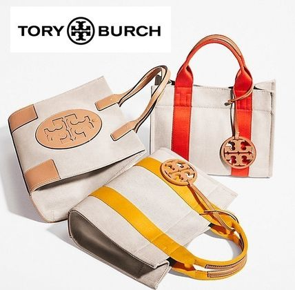 TORY BURCH セール 大人気 トートバッグ MILLER CANVAS TOTE