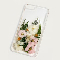 Urban Outfitters 大人気 押し花 クリアiPhoneケース 6+/7+/8+