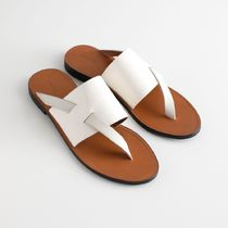 ★&Other Stories★Curved T-Bar Strap Sandals★ホワイト★