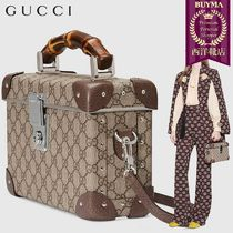 【正規品保証】GUCCI★19春夏★GLOBE-TROTTER GG BEAUTY CASE