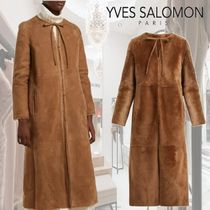 YVES SALOMON(イヴサロモン) コート 【18AW】★Yves Salomon★Reversible shearling coat