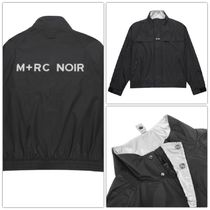 18AW M+RC NOIR(マルシェノア)  BLOCK TRACKSUIT JACKET