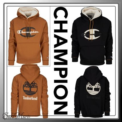 【CHAMPION xTIMBERLAND】SUPER FLC LUXE CONEフーディー 2色