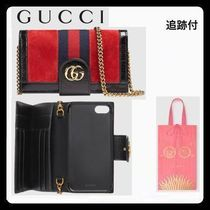 GUCCI【iPhone ケース7/ 8 &カードケース】Ophidia 追跡付