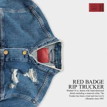 日本未発売!【KITH × Levi's】RED BADGE RIP TRUCKER