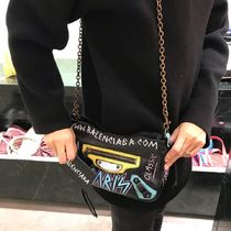 VIP SALE!【BALENCIAGA】Graffiti Classic Chain Bag