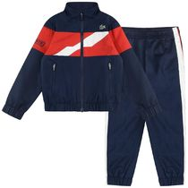 LACOSTE(ラコステ) キッズスポーツウェア Boys Navy & Red Stripe Tracksuit