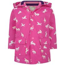 hatley(ハットレイ) キッズアウター Girls Colour Changing Unicorn Silhouettes Raincoat