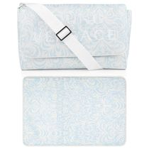 Blue Baroque Baby Changing Bag