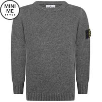 Boys Charcoal Knitted Sweater