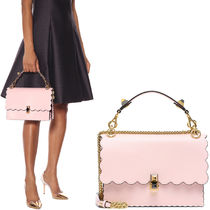 FE2346 KAN I BAG WITH SCALLOP DETAIL