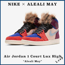 "【Nike】入手困難 Air Jordan 1 Court Lux High ""Aleali May"""