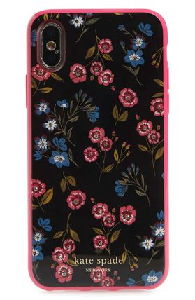 kate spade new york スマホケース・テックアクセサリー 【Kate Spade New York】jeweled meadow iPhone X & Xs case(2)