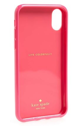 kate spade new york スマホケース・テックアクセサリー 【Kate Spade New York】jeweled meadow iPhone X & Xs case(3)