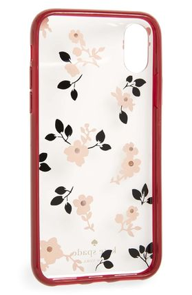 kate spade new york スマホケース・テックアクセサリー 【Kate Spade New York】jeweled meadow iPhone X & Xs case(5)