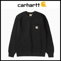 ☆Carhartt☆ スウェットシャツ POCKET LOOSE SWEATSHIRT-BLACK
