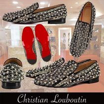 Christian Louboutin Rollerboy Spikes Veau Velours Zebre