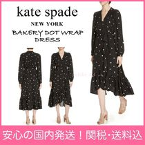 【国内発送】BAKERY DOT WRAP DRESSセール