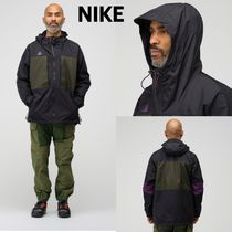☆新作☆ NikeLab ナイキラボ ACG Anorak Jacket Black