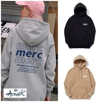 ACOVER(オコボ) パーカー・フーディ 新作★ACOVER★BACK 3LINE MARC 950G HOODIE 3色