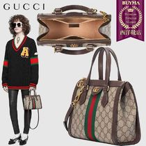 【正規品保証】GUCCI★19春夏★OPHIDIA SMALL GG TOTE BAG