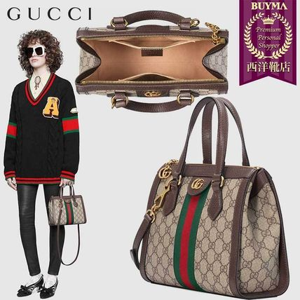 new style 85697 1def1 【正規品保証】GUCCI★19春夏★OPHIDIA SMALL GG TOTE BAG
