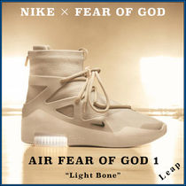 "【Nike×FOG】激レア 入手困難 Air Fear of God 1 ""Light Bone"""