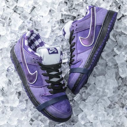 SB Dunk Low Concepts Purple Lobster パープルロブスター