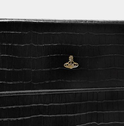Vivienne Westwood スマホケース・テックアクセサリー UK発☆Vivienne Westwood☆MacBook Case 13 Black Croc(5)