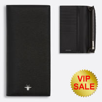 Dior(ディオール) 長財布 DIOR HOMME Bee Signature Continental Wallet Black