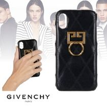 GIVENCHY 19SS IPHONE XS / X cover レザー ブラック