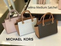 完売必至 Michael Kors★Selma Medium Satchel*追跡有