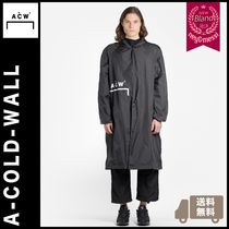 A-COLD-WALL(アコールドウォール) コートその他 [送料無料] A-Cold-Wall 2018AW ナイロンレインコート black