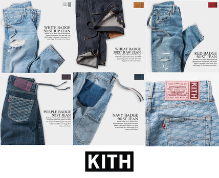 KITH X Levi's 501 Winter 2018 the Badge Collection