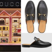 【VIP価格購入】GUCCI Slipper Princetown in Leather
