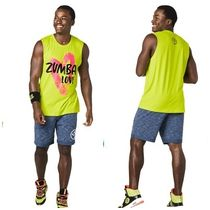 ◆12月新作◆ユニセックス ◆Zumba Love Muscle Tanks(GREEN)