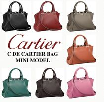 日本未入荷!限定モデル【Cartier】C de Cartier Bag Mini Model