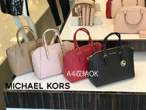 追跡有 Michael Kors★☆CIARA Saffiano 2way ラージ*A4収納OK