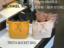 追跡有 Michael Kors★TRISTA BUCKET BAG 茶巾型*12月新作
