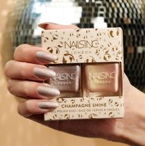【Nails Inc】期間限定〇Champagne Shine Nail Polish Duo〇2本