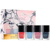【Nails Inc】期間限定〇The Nail Wardrobe Collection〇ミニ4本