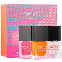 【Nails Inc】限定〇Stay Bright Neon Nail Polish〇3本セット