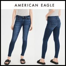 American Eagle Outfitters(アメリカンイーグル) デニム・ジーパン ☆American Eagle Outfitters☆ Denim low rise Jeggings pants