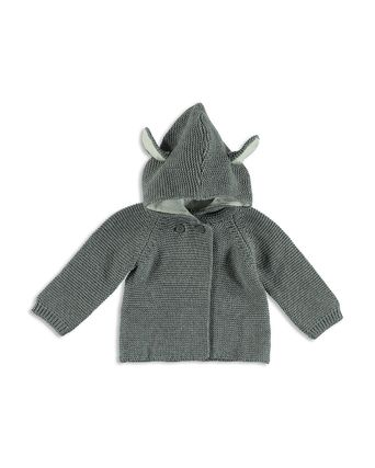 *SALE* Stella McCartney Unisex Ear Detail Hooded Cardigan