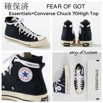 確保済 FEAR OF GOT★Essentials x Converse Chuck 70 High(US9)