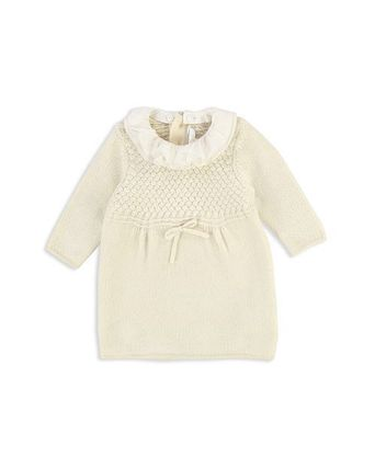 *SALE* Chloe Girls' Removable Collar Knit Dres