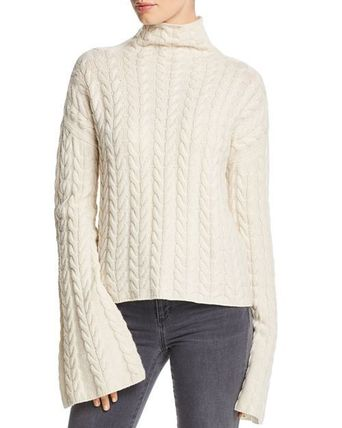*SALE* Theory Horseshoe Cable Cashmere Sweater
