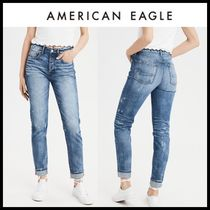☆American Eagle Outfitters☆ Denim high rise destroy pants