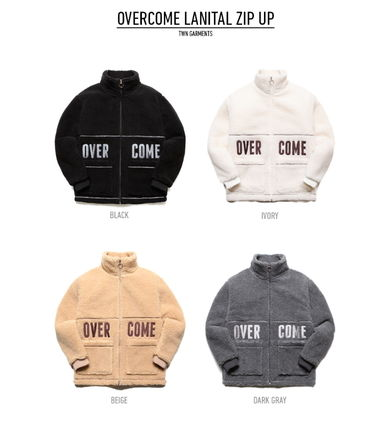 TWN アウターその他 TWN★OVERCOME LANITAL ZIP UP 4カラー - STOT3078